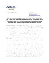 GRC Announces Licensing Agreement with Japans Nihon Form Services 20190716