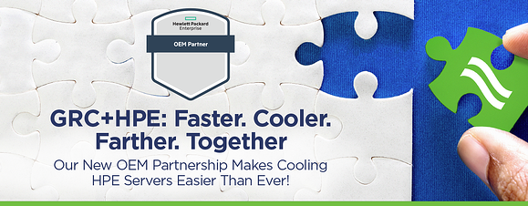 GRC HPE OEM Partnership Blog Header